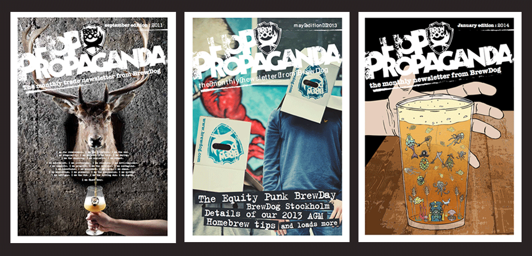 BrewDog-Newsletters