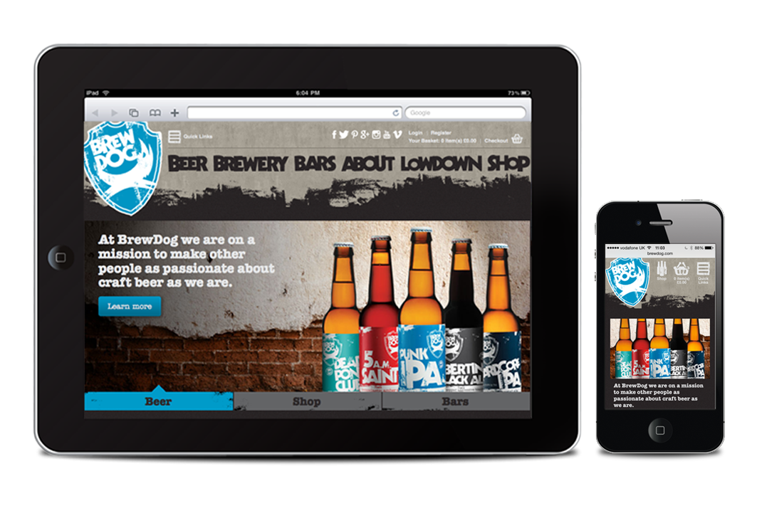 BrewDog--website
