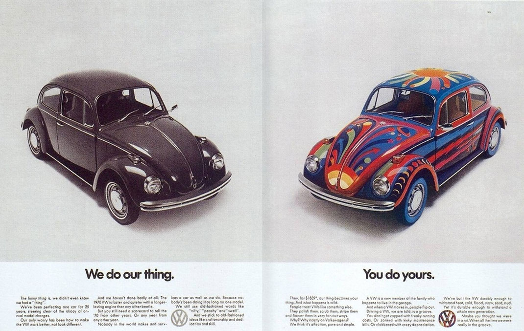VW Beetle ad-straight-&-Psychedelic