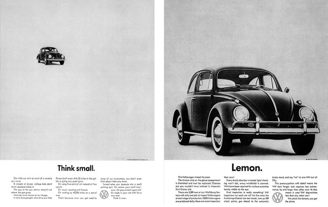 VW Beetle ads-Small-&-Lemon